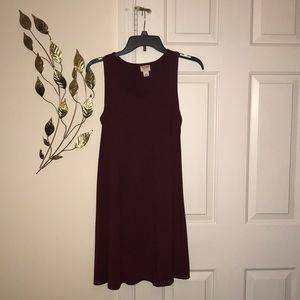 Maroon dress size M